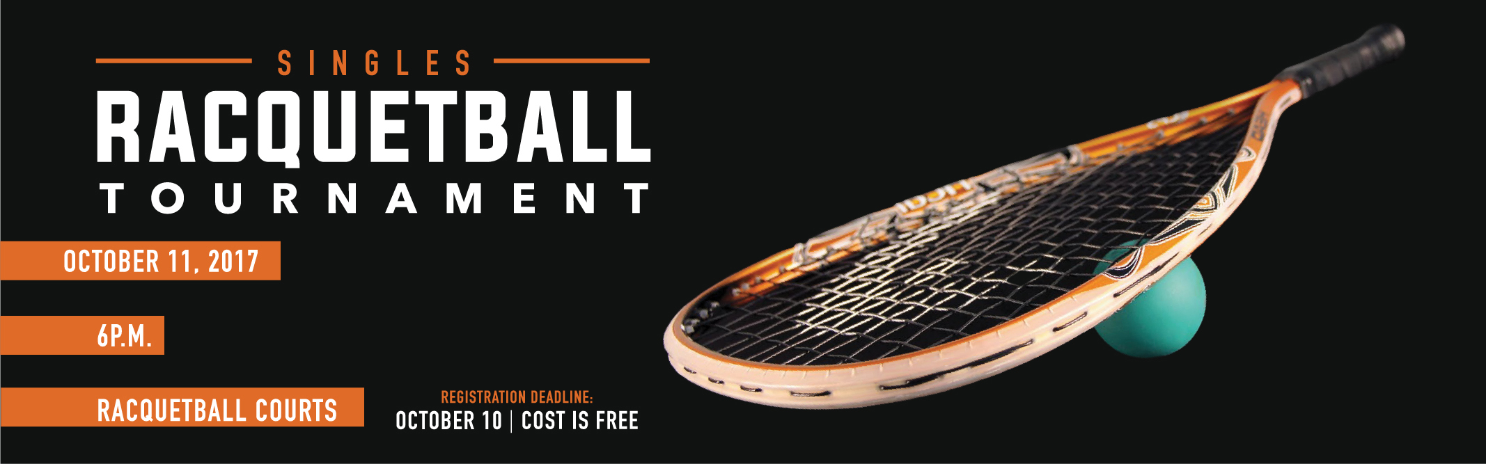 Tournaments for Racquetball court construction cost