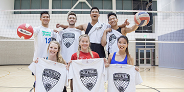 Champions of intramural volleyball