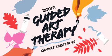 Guided Art Therapy Canvas Creations Image