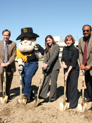 Groundbreaking Ceremony on January 30, 2009