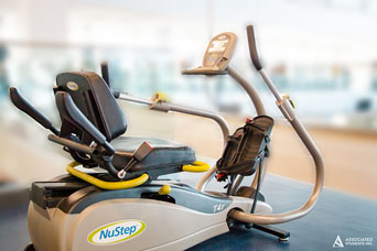 Nu-Step Recumbent Machine
