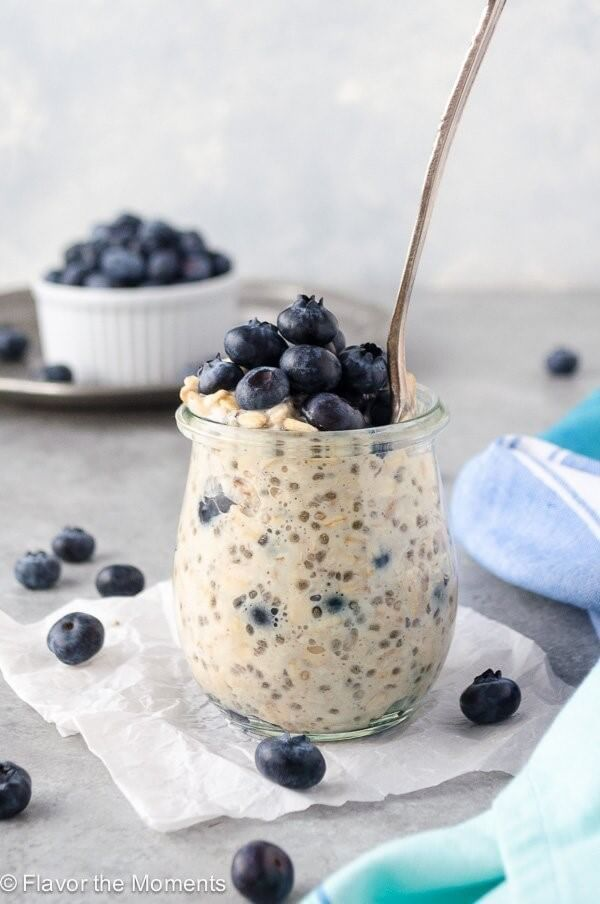 Overnight Oats and Chia seeds