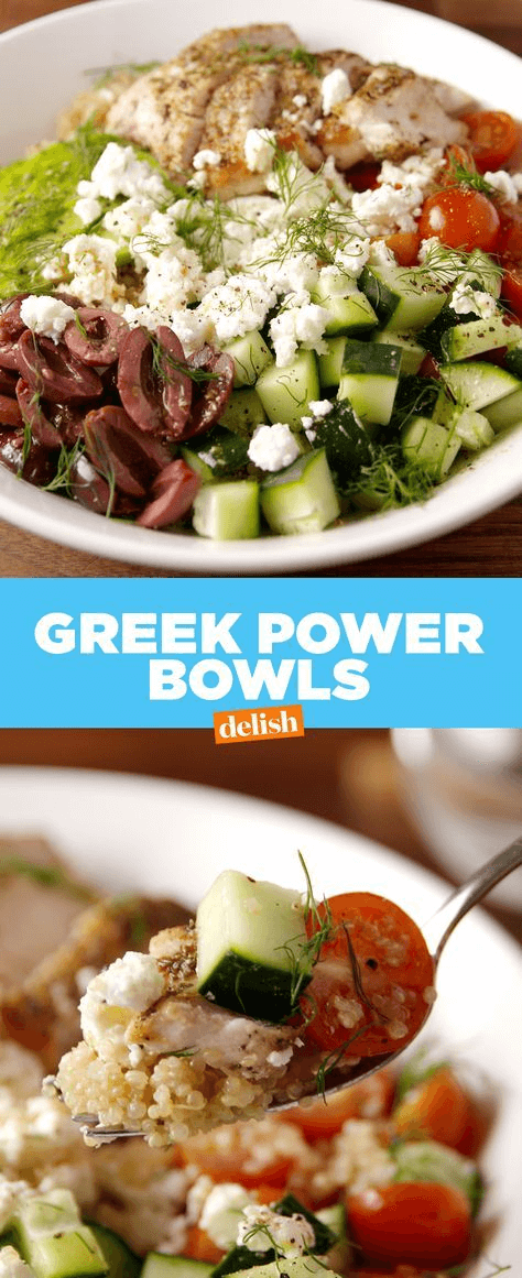 Greek Chicken Bowl