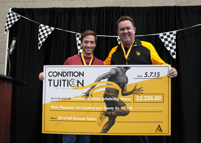 Owen's Condition for Tuition winner for 2015
