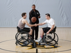 Photos » Wheelchair Basketball