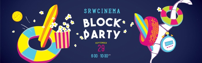 SRWCinema Block Party Banner