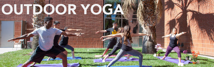 Outdoor Yoga Banner