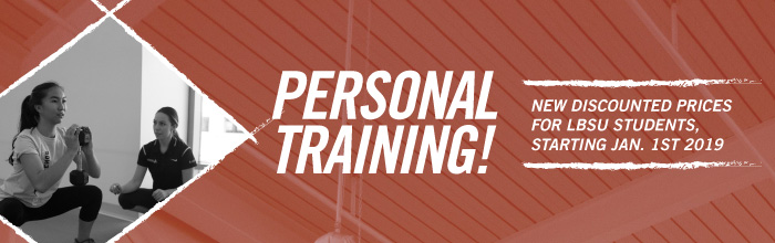 New Low-Cost Personal Training Banner