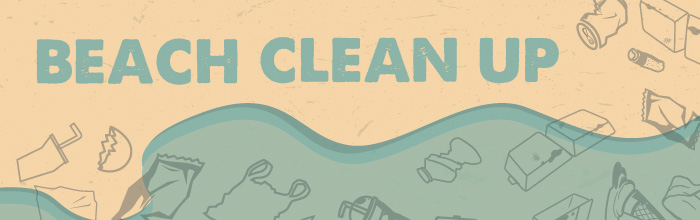 You're Invited to an SRWC Beach Clean Up banner
