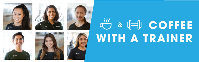 Coffee with a Trainer Series banner
