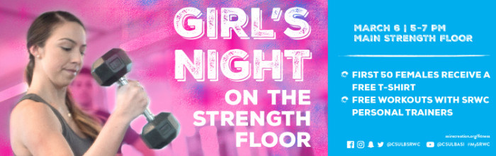 Girls Night on the Strength Floor