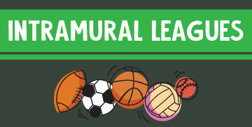 Intramural leagues button